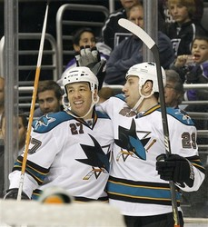 Sharks Kings Hockey