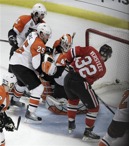 Stanley Cup Flyers Blackhawks Hockey