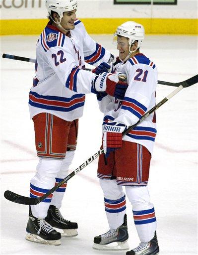 Rangers Sabres Hockey