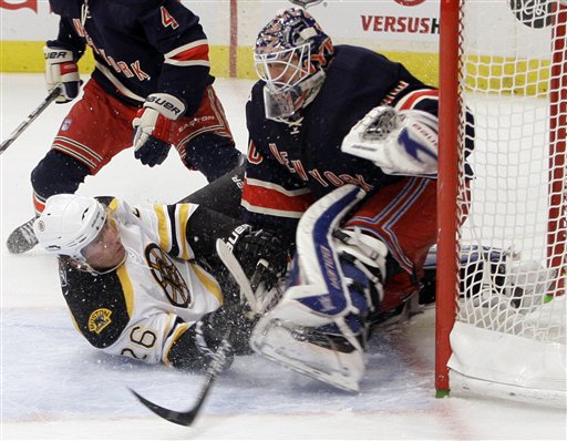 Bruins Rangers Hockey
