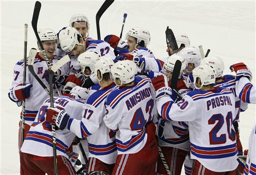 Rangers Hurricanes Hockey