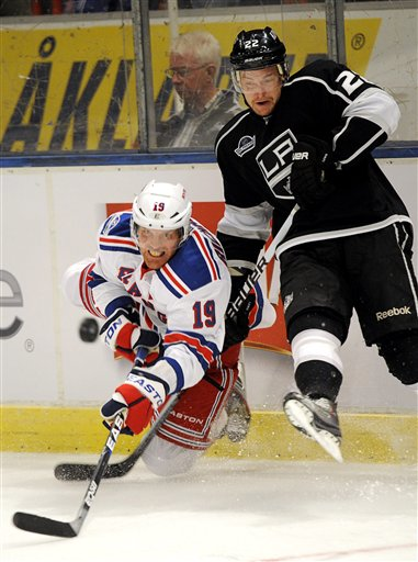 Sweden Hockey NY Rangers LA Kings