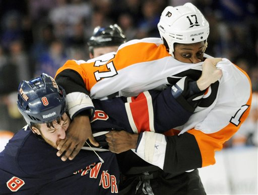Brandon Prust, Wayne Simmonds