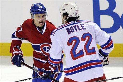 Rene Bourque, Brian Boyle