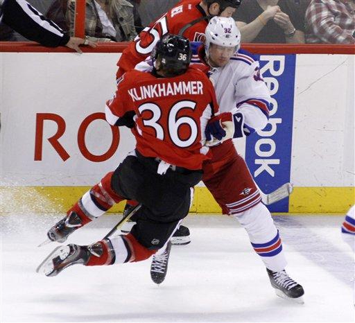 NHL Ottawa New York