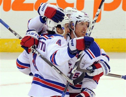 Brad Richards, Michael Del Zotto