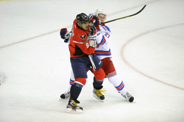 NY Rangers v Washington Capitals