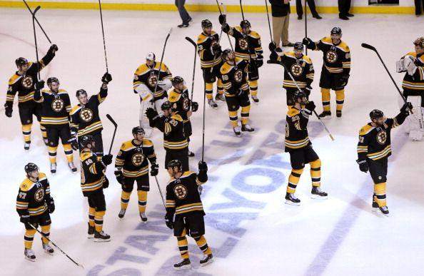 New York Rangers Vs. Boston Bruins At TD Garden