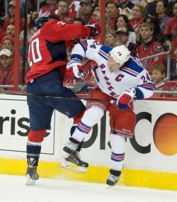 Rangers  v Capitals Game 2