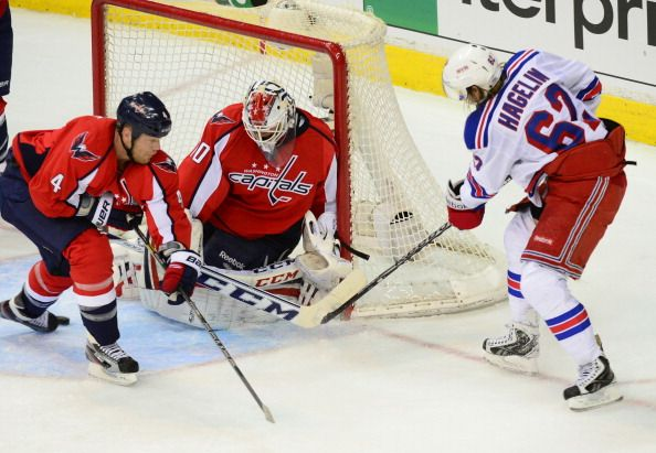 NHL Playoffs Game 1-New York Rangers @ Washington Capitals