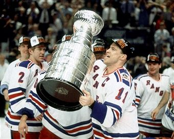 messier with the cup
