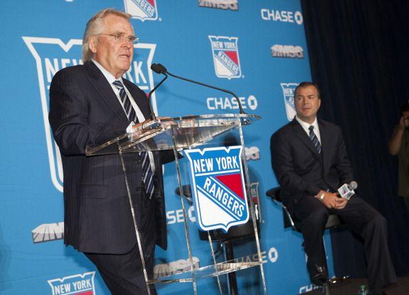 New York Rangers Introduce Alain Vigneault