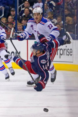 New York Rangers v Columbus Blue Jackets