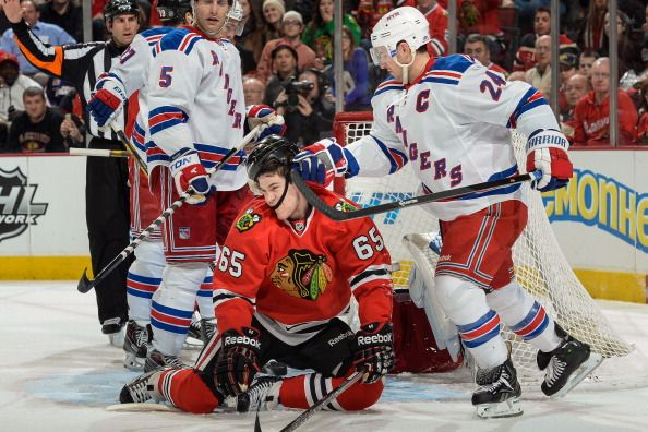 New York Rangers v Chicago Blackhawks