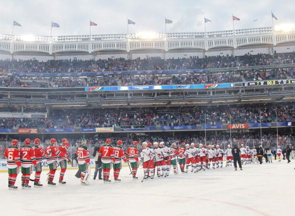 2014 Coors Light Stadium Series - New York Rangers vs New Jersey Devils