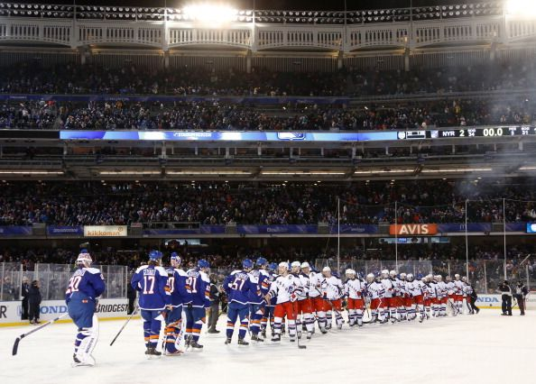 2014 Coors Light Stadium Series - New York Rangers v New York Islanders