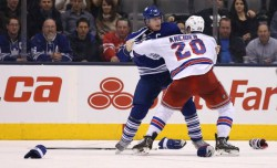 Toronto Maple Leafs lose to the New York Rangers 7-1