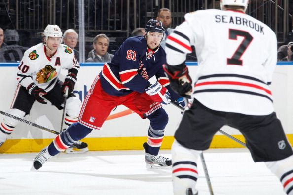 Chicago Blackhawks v New York Rangers