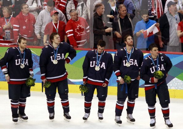 USA v. Canada Olympics Hockey Final