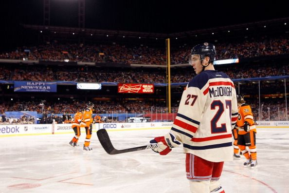 2012 Bridgestone NHL Winter Classic - New York Rangers v Philadelphia Flyers