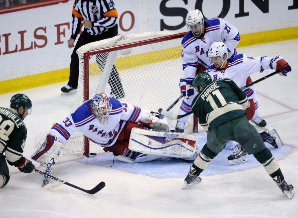 New York Rangers v Minnesota Wild