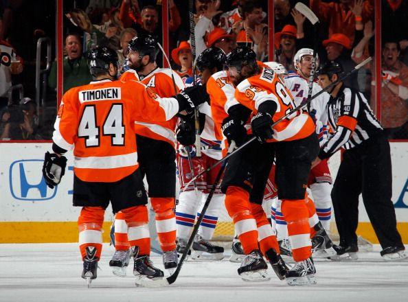 New York Rangers v Philadelphia Flyers - Game Six