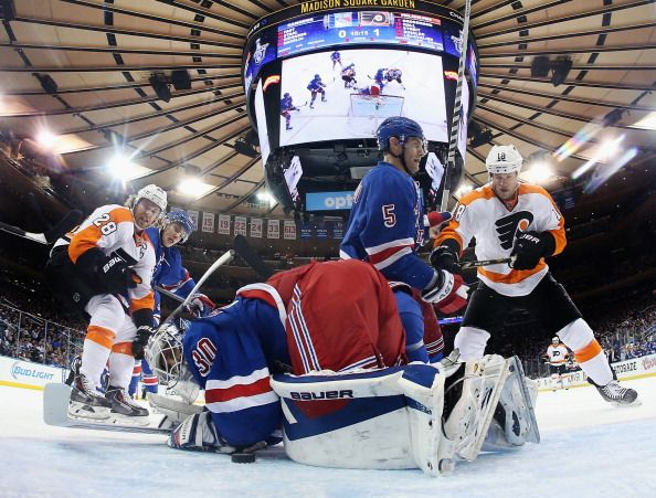 Philadelphia Flyers v New York Rangers - Game One