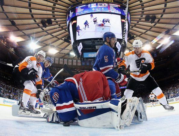 Philadelphia Flyers v New York Rangers - Game One