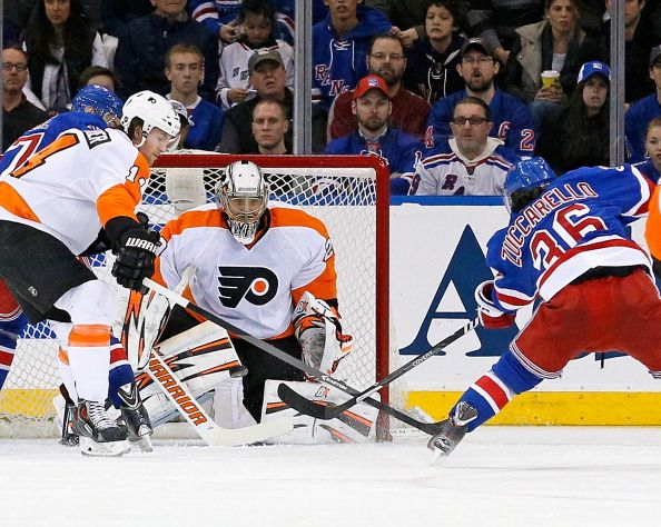 Philadelphia Flyers v New York Rangers - Game Two