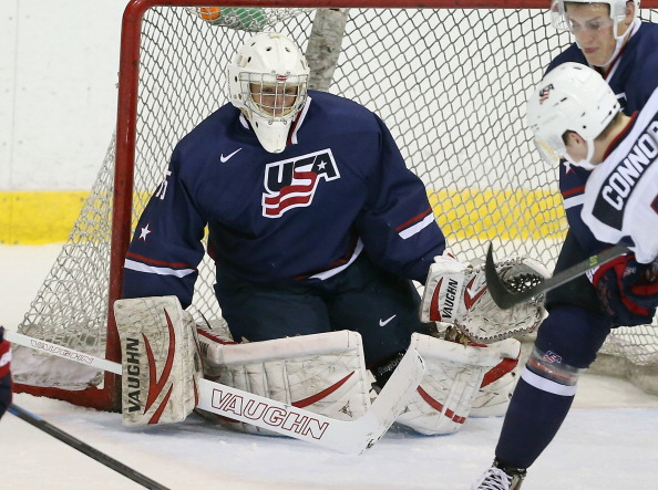 USA Blue v USA White - 2014 USA Hockey Junior Evaluation Camp