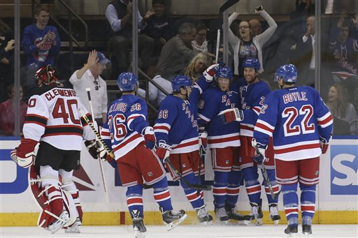 Devils Rangers Hockey