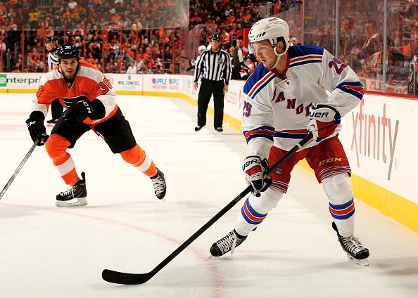 New York Rangers v Philadelphia Flyers