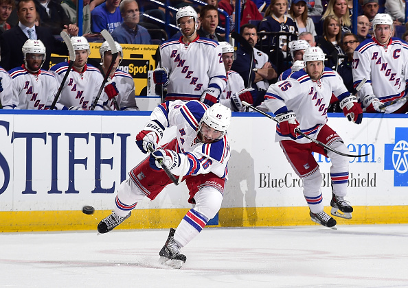 New York Rangers v St. Louis Blues