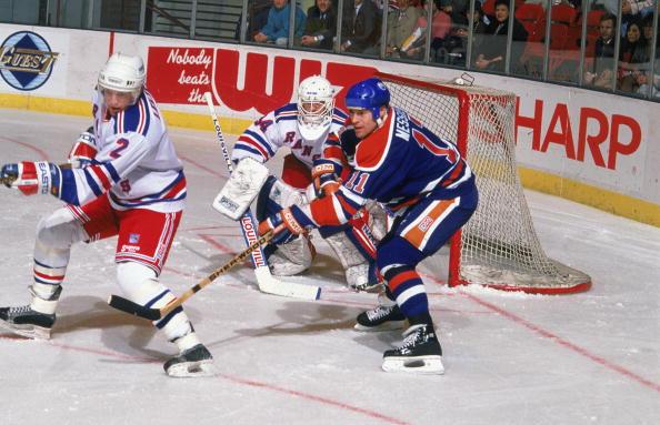 Oilers v Rangers