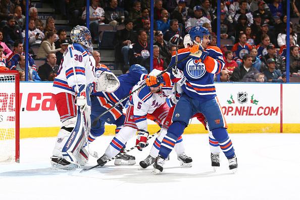 New York Rangers v Edmonton Oilers