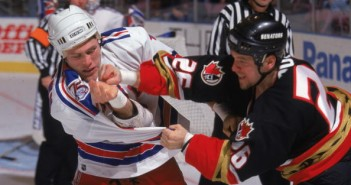 Andre Roy Throws A Punch At Brad Brown