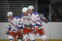 Teammates On The Ice