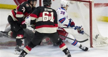 Rangers Senators Hockey