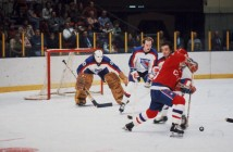 John Davidson Guards The Net