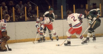 Pete Stemkowski Of The Rangers