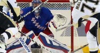 Pittsburgh Penguins v New York Rangers - Game One