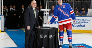 Bill Daly, Ryan McDonagh and the Presidents' Trophy