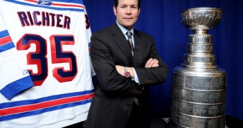 Mike Richter and Stanley