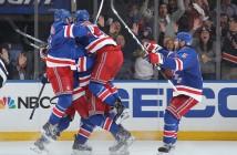rangers celebrate mcd goal
