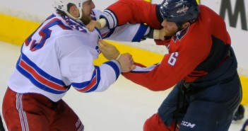 Tanner Glass vs. Tim Gleason