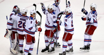 The Rangers have done more than their share of celebrating