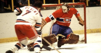 Hall of Famers Rod Gilbert and Ken Dryden