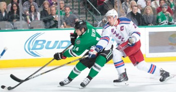Ryan McDonagh and the Rangers get to chase Dallas' Jamie Benn Tuesday night