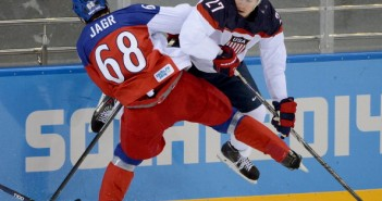 Czech Republic v USA Ice Hockey