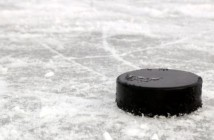 puck on ice Getty
